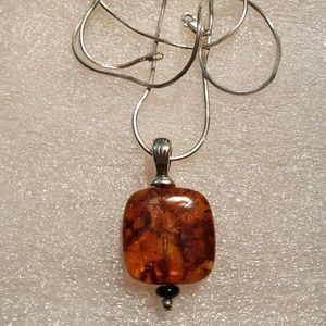 Jewelry - Vintage Amber necklace